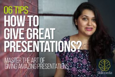 How to give 'Effective Presentations'?