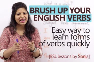 Brush up your English Verbs