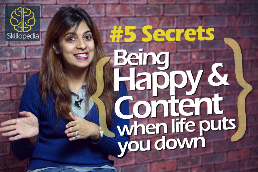 Personality development video by Niharika to learn how to stay happy and motivated