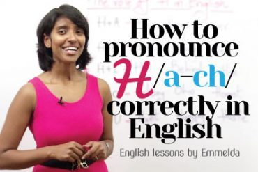 How to Pronounce 'H' correctly in English?