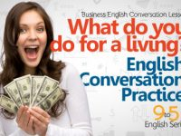 English conversation Lesson – What do you do?