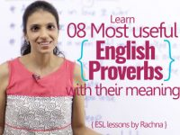 08 most useful proverbs to speak English fluently & confidently