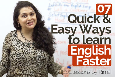 How to speak English faster and improve your English speaking to speak fluent English