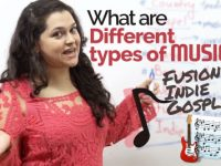 Improve English Vocabulary – What are different 'types of MUSIC'