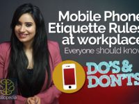 06 Mobile Phone Etiquette Rules At Workplace
