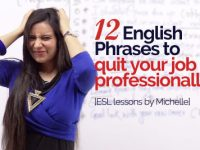 12 English phrases to quit your job professionally- Business English