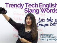 Trendy Tech English Slang Words.