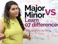 Major vs Minor – 07 differences