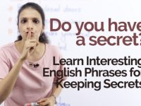 Interesting English phrases to 'Keep a Secret'