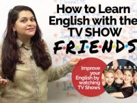 How to learn English with TV Show FRIENDS