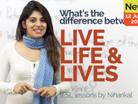 What's the difference between LIVE, LIFE & LIVES?