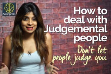How to deal with Judgemental people – Personal Development Video