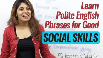 Polite English Phrases for Good Social Skills.