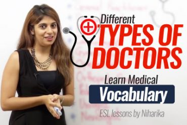 Different types of doctors. (Learn Medical Vocabulary)