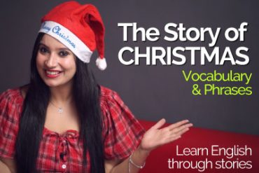 The CHRISTMAS story (Vocabulary & Phrases) -Learn English through Stories