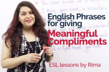 How to give 'Meaningful Compliments' – Learn unique English phrases