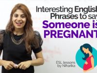 Interesting English Phrases to say – Someone is Pregnant