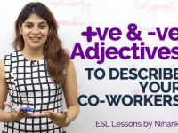 English For Work – Positive & Negative Adjectives To Describe Your Co-workers