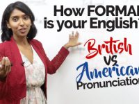 Difference in British & American Formal English pronunciation  –Speak English Clearly & Confidently