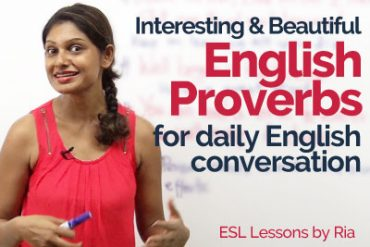 english proverbs used in conversation