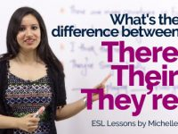 Difference between – There, Their and They're (They are)