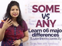SOME vs ANY – Learn 6 differences and use them correctly in spoken English
