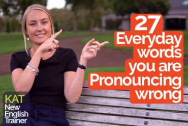 27 Mispronounced Everyday Words – English Pronunciation Training – Improve Accent & Speak Clearly