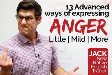 13 Advanced English words to express 'ANGER'