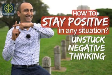 How to stay POSITIVE & Unstuck the NEGATIVE  no matter what| Realistic Positive Thinking