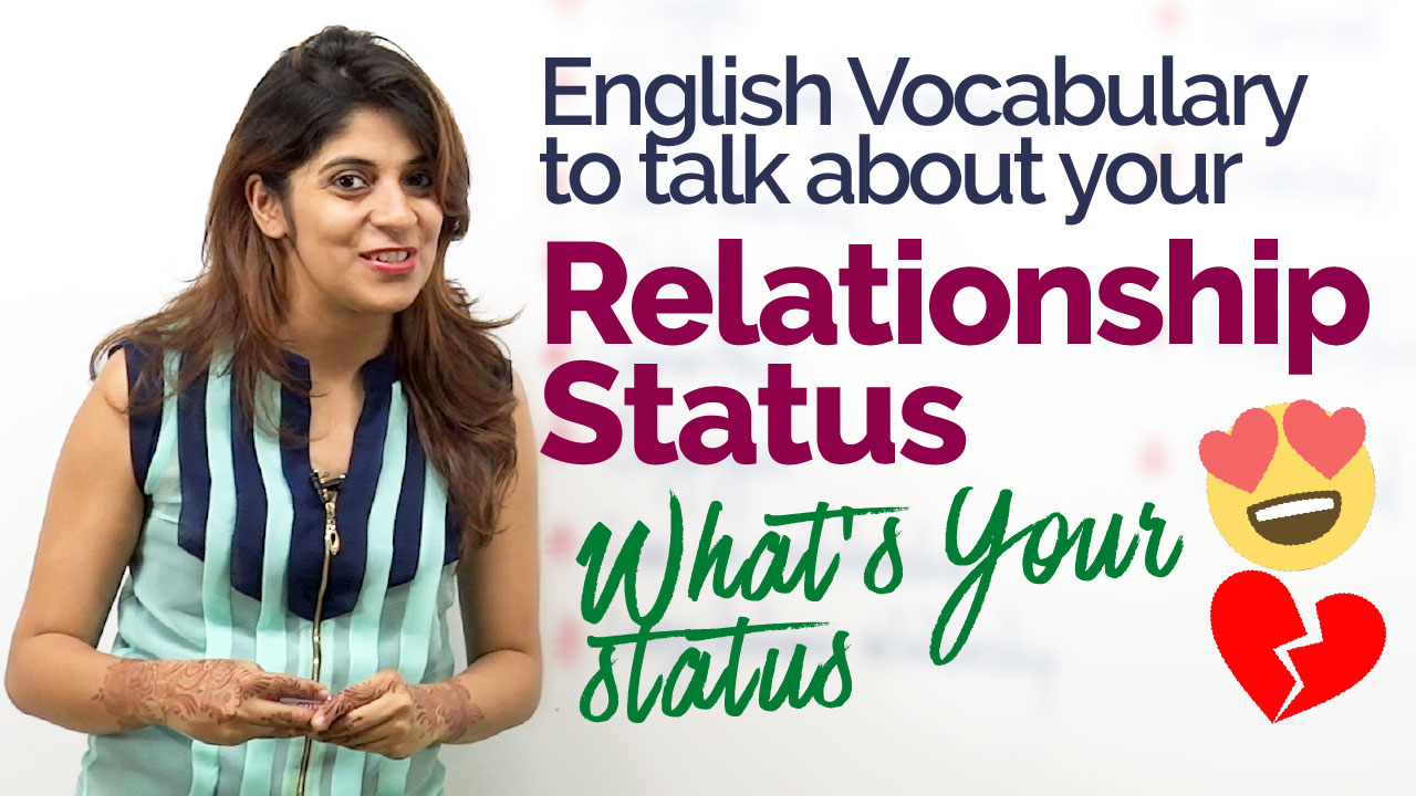 English Practice Lesson - Talking about your relationship status