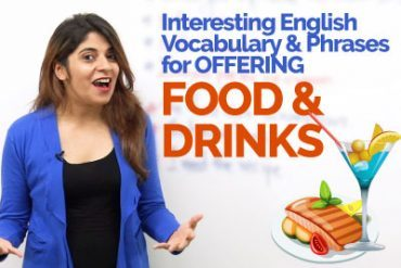 Offering Food & Drinks – Learn English Expressions & Vocabulary