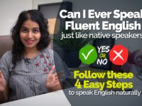 4 Easy Tips to Speak Fluent English Naturally like a Native Speaker? Learn to Think in English & Stop Translating