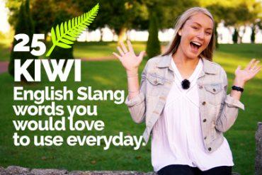 25 KIWI English Slang words   Speak English like a Native Speaker   English Vocabulary Lesson