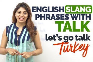 Slang English Phrases & Expressions with 'TALK' – Learn English with Niharika