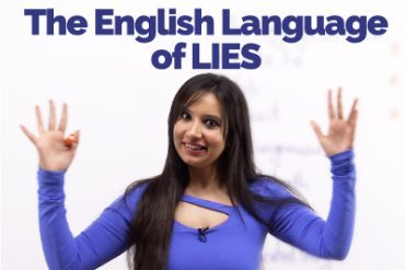The English Language of 'lies' – Describing different types of lies