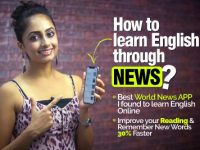 How to learn English Through News? Learn New words with Meanings for Business.