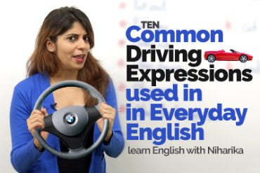 Common Driving Expressions used in Everyday English | Learn English Vocabulary