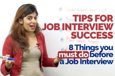Job Interview Tips – 8 things you must do to ace a Job Interview | Preparation for success