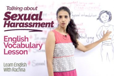 How to talk about SEXUAL HARASSMENT? Learn English Vocabulary