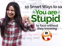 How to say 'YOU ARE STUPID' to someone's face without them knowing? Learn 10 Smart Ways!