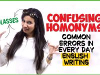 22 Confusing English Words | HOMONYMS | Fix Common Vocabulary Mistakes & Errors