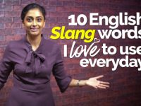 Learn Common English Slang Words used in daily conversations.