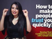 How to make people trust you quickly?