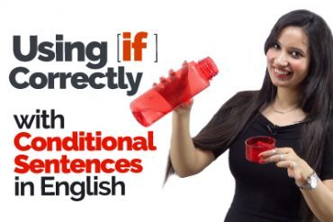English Grammar Rules to use 'IF' correctly in Conditional Sentences
