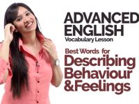 🔴 Advanced English Speaking Vocabulary – Describing Behaviour & Feelings