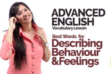 🔴 Advanced English Speaking Vocabulary – Describing Behaviour & Feelings