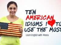 10 American English Idioms & Expressions I Love to use in daily conversation.