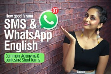 SMS & WHATSAPP English | Top Modern Internet Slang Words,  Acronyms & Abbreviations used in daily texting