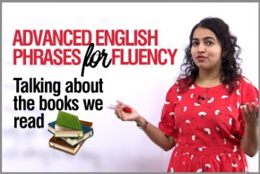 Advanced English Phrases to speak fluently | Talking about Books