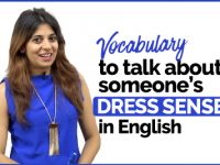 Talking about someone's DRESS SENSE | English Vocabulary
